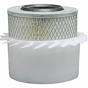 Air Filter,6-1/16 x 8-9/32 in.