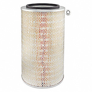 "Air Filter, Round, 18-1/2"" Height, 18-1/2"" Length, 9-7/32"" Outside Dia."