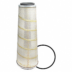 Air Filter,5-3/4 to 8-21/32 x 23 in.