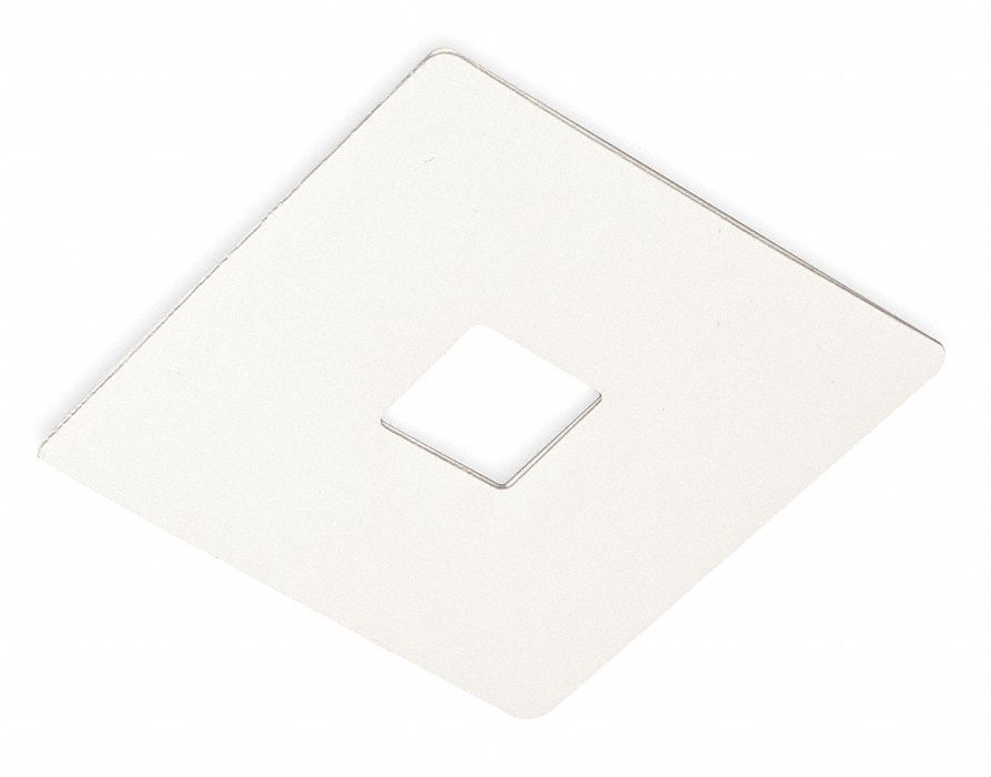 White Cover, 5 in Square