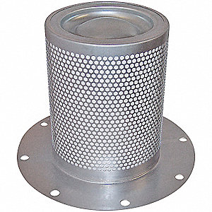 Oil/Air Separator,9-13/32 x 12 in.