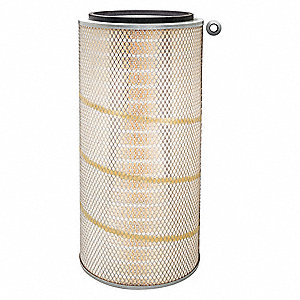 "Air Filter, Round, 22-13/16"" Height, 22-13/16"" Length, 10-5/8"" Outside Dia."