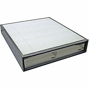 Air Filter,20-1/4 x 3-9/32 to 4-1/4 in.