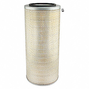 "Air Filter, Round, 22-11/16"" Height, 22-11/16"" Length, 10-5/8"" Outside Dia."