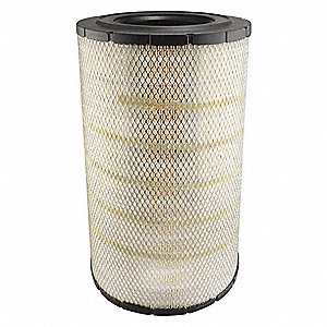 "Air Filter, Radial, 19-3/32"" Height, 19-3/32"" Length, 11-29/32"" Outside Dia."