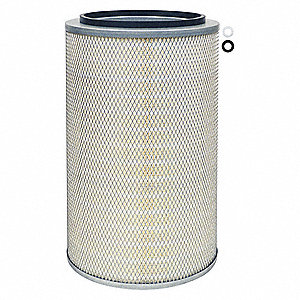 "Air Filter, Round, 20-3/16"" Height, 20-3/16"" Length, 12-29/32"" Outside Dia."