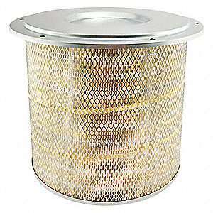 "Air Filter, Round, 13-17/32"" Height, 13-17/32"" Length, 13-7/8"" Outside Dia."