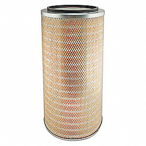 "Air Filter, Round, 23-1/2"" Height, 23-1/2"" Length, 12-3/4"" Outside Dia."