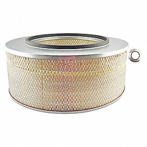 "Air Filter, Round, 8-1/32"" Height, 8-1/32"" Length, 17-5/8"" Outside Dia."
