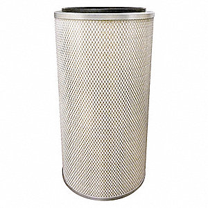 "Air Filter, Round, 26-1/2"" Height, 26-1/2"" Length, 12-3/4"" Outside Dia."
