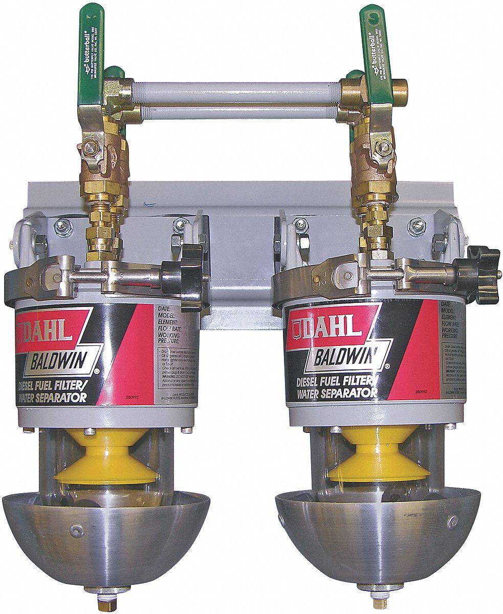 BALDWIN FILTERS Fuel Filter, Spin-On Filter Design - 4XEE1|100-MMV -  GraingerGrainger
