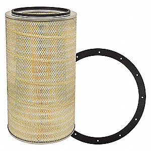 "Air Filter, Round, 24"" Height, 24"" Length, 13-7/8"" Outside Dia."