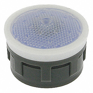 Regular Insert w/Washer Aerator, Aerated Stream, - Thread Size
