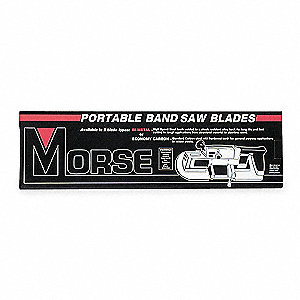 "3 ft. 8-7/8"" Bi-Metal Matrix II Portable Band Saw Blade, 1/2"" Width, Package Quantity 3"
