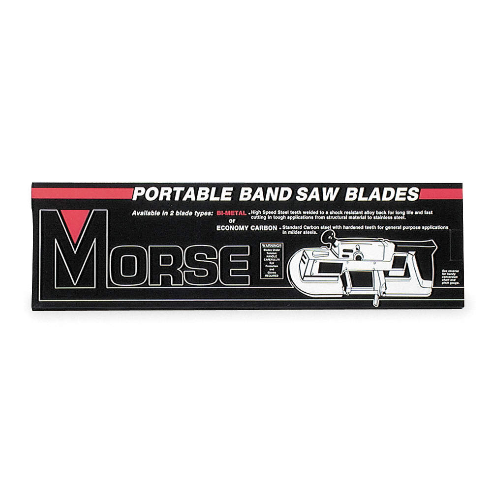 Morse 3 ft 8 78 matrix ii bi metal portable band saw blade zoom outreset put photo at full zoom then double click greentooth Choice Image