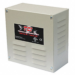 UL Type 1 Enclosure,High Z Input Line Reactor,208/240 Input Voltage,10.6 Max. Output Amps