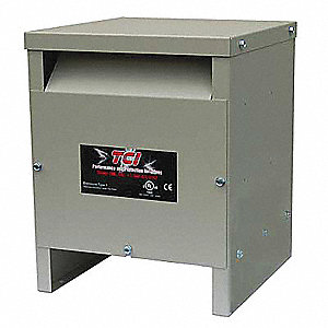 UL Type 1 Enclosure,High Z Input Line Reactor,460/480 Input Voltage,52 Max. Output Amps