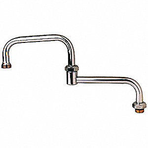 Brass Spout for T&S Faucets