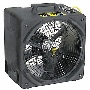3.80/3.60 Amps Blower, 3500 CFM High, Black