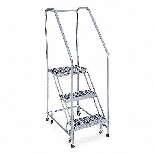 Cotterman escala rodamiento dent acero pasamanos for Escala o escalera