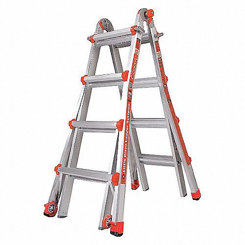 Little giant escalera multiusos al 17 pies c ruedas for Escalera multiusos