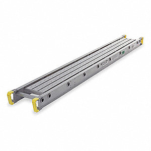 "500 lb. Load Capacity Aluminum Two-Person Scaffolding Stage, 5""H x 28""W x 16 ft."