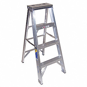 4 ft. 375 lb. Load Capacity Aluminum Stepladder