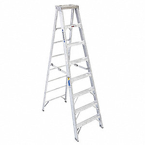 8 ft. 375 lb. Load Capacity Aluminum Stepladder