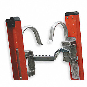 Cable Hook and V Rung Assembly, Aluminum, Adjustable Up To 10""