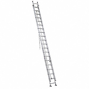 Extension Ladder, Aluminum, IA ANSI Type, 8 ft. Ladder Height