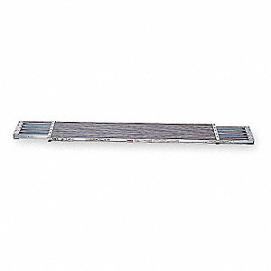 Extension Plank,10 ft. L,2 In. H