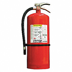 Dry Chemical Fire Extinguisher with 20 lb. Capacity and 26 to 28 sec. Discharge Time