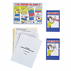 Binder, Material Safety Data Sheets