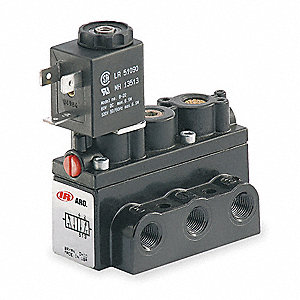 "1/8"" 24VDC, 4-Way/2-PositionSolenoid Air Control Valve"