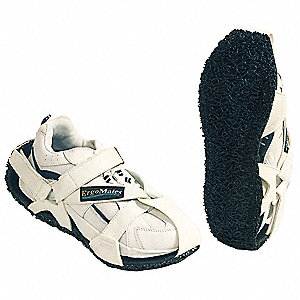Antifatigue Soles, Men's Size 5 to 7, Black/White