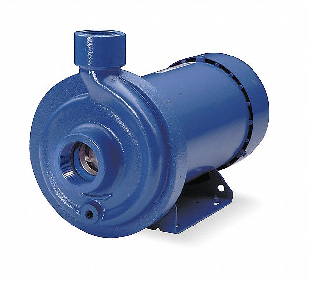 60 Hz Carbon-SilCar-Viton Seal 7.5 hp 3 Phase 575V GOULDS WATER TECHNOLOGY 10HM08N55T6ZBQV Threaded Horizontal Multistage Centrifugal Electric Pump 8 Stage