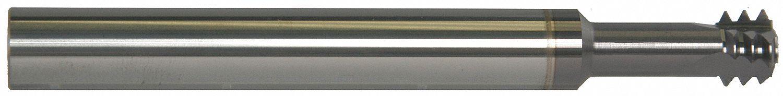 3 Flutes Scientific Cutting Tools Thread Mill TiAlN TMLR238-28A 1//4 Shank Dia