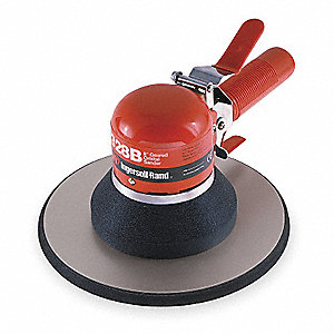 "Air Dual-Action Sander with 8"" Pad Size, Vacuum, 5/32"" Orbit Dia."