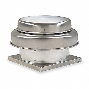 "1/8 HP 10""-Dia. Direct Drive Axial Exhaust Ventilator, 115V, 1750 RPM"
