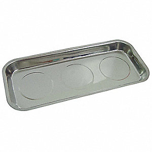 MAGNETIC TRAY,14X6 1/4X1 1/4 IN