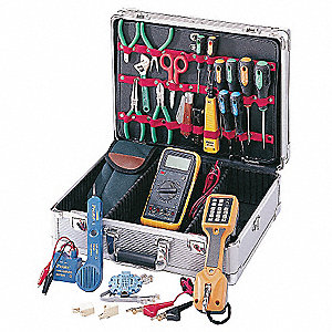 Communications Tool Kit, Number of Pieces:  21, Application:  Telecomm Service