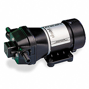 Quad Chamber Diaphragm General Purpose Pump, Voltage: 115V, Polypropylene