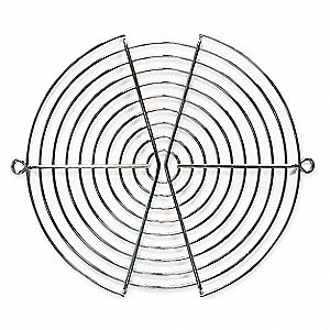 Steel Fan Guard, 1 EA,For Fan Size (In.) 6-3/4