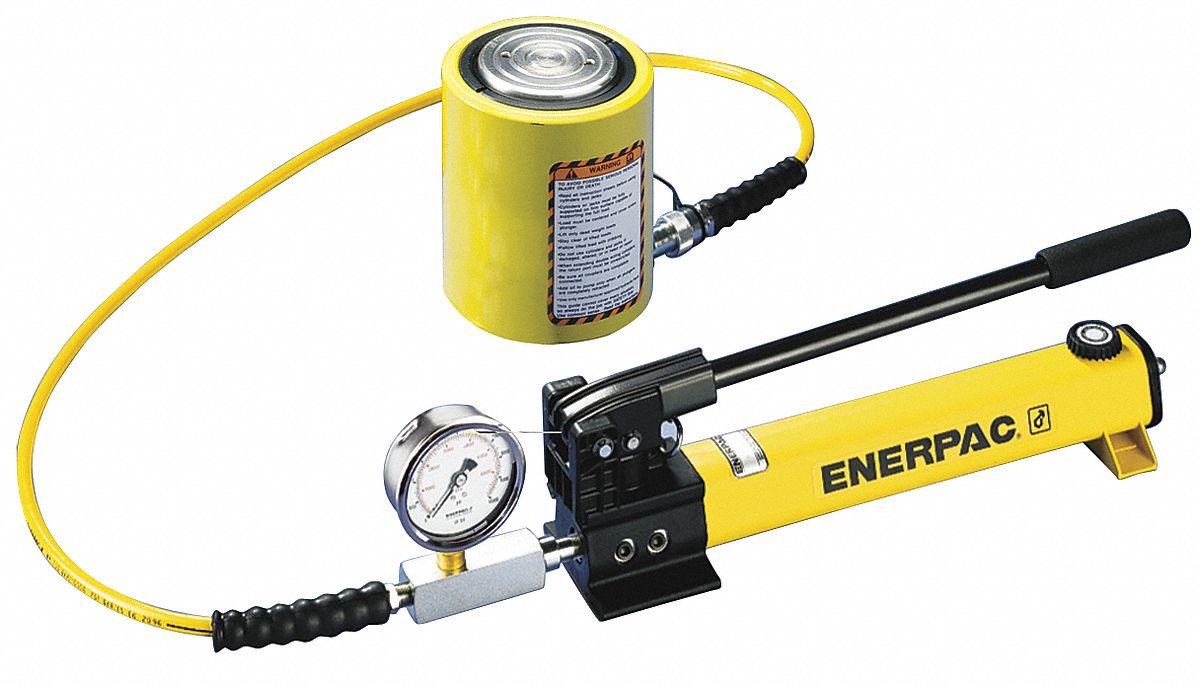 Enerpac Pump Low Height Cylinder Set 10 Ton Cap Model ...