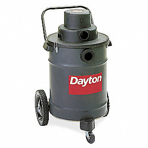 15 gal. Industrial Wet/Dry Vacuum, 3 Peak HP, 120 Voltage