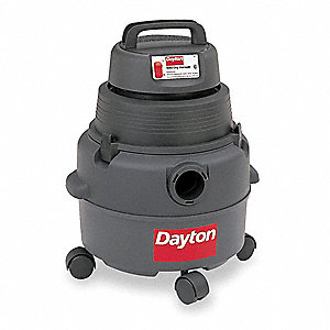 6 gal. Commercial Wet/Dry Vacuum, 4.5 Peak HP, 120 Voltage