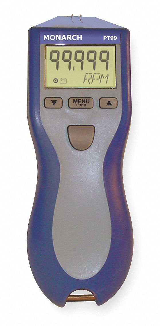 Tachometer, 5 to 99, 999 rpm
