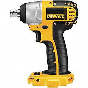 "1/2"" Cordless Impact Wrench, 18.0 Voltage, 145 ft.-lb. Max. Torque, Bare Tool"
