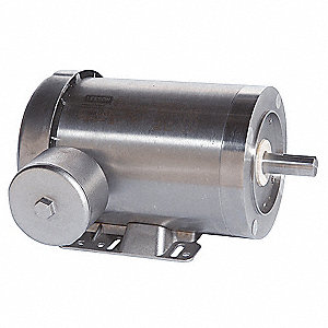 Washdown Motor,3 Ph,TEFC,2 HP,1745 rpm