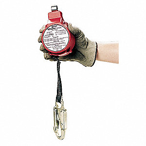 11 ft. Fall Limiter with 310 lb. Weight Capacity, Red